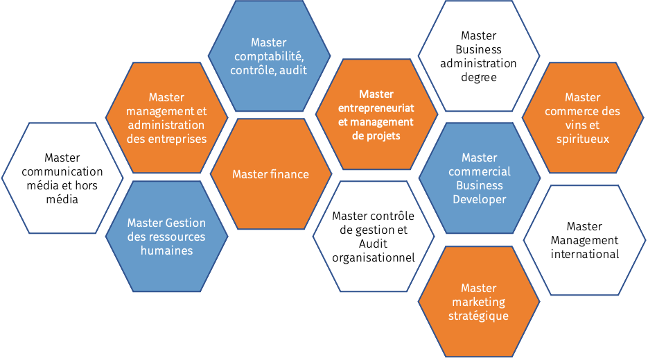 CEtte image renvoie à l'ensemble des masters proposés par IAE Bordeaux. Des masters 1 aux Masters 2, nous évoquons la pluralité des masters de l'IAE